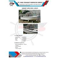 SPEED BOAT P.6.00M TRANSPORTASI (12 PAX)