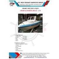 SPEED BOAT P.6.00M FISHING OLD MODEL (6 PAX)