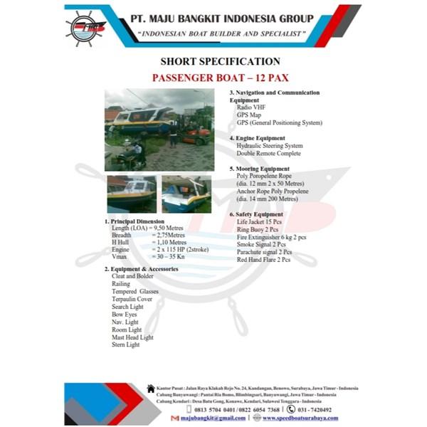 SPEED BOAT P.4.00M SPEED-HIGHT (4 PAX)