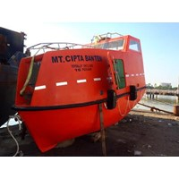 TOTALLY ENCLOSED LIFEBOAT 16 PERSON (Komplit)