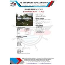 PASSANGER BOAT 9 M (16 pax)