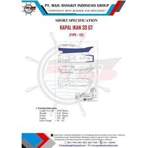 KAPAL IKAN 30 GT P.20.00M L.4.30M (ALL TYPE)