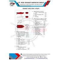 SPED BOAT P.4.50M SPEED-MEDIUM (6 PAX)