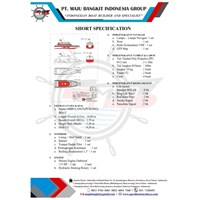 AMBULANCE BOAT P.10.00M SPORTY (OUTBOARD ENGINE)
