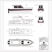 PASSENGER BOAT 7 M (6 PAX)