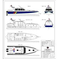 Jual KAPAL PATROLI P.12.00M INTERCEPTOR type 2 (14 pax) 2