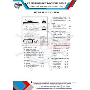 KAPAL PATROLI P.12.00M INTERCEPTOR type 2 (14 pax)