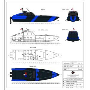 PATROL BOAT SPORT JET 12 M (10 PAX)