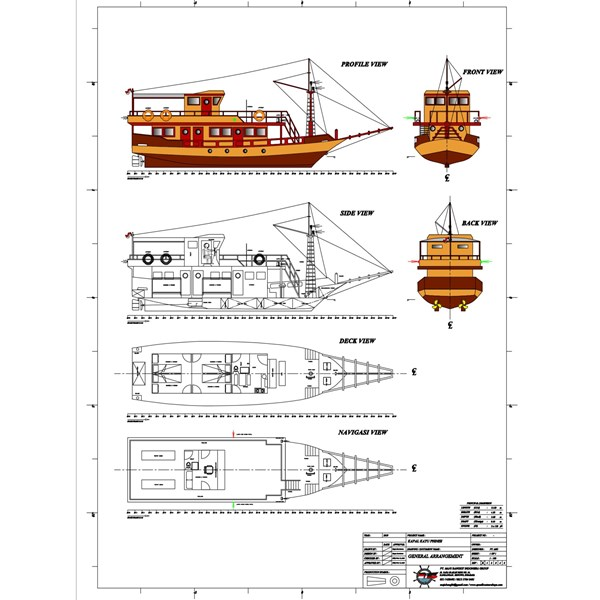 KAPAL PHINISI P.15M