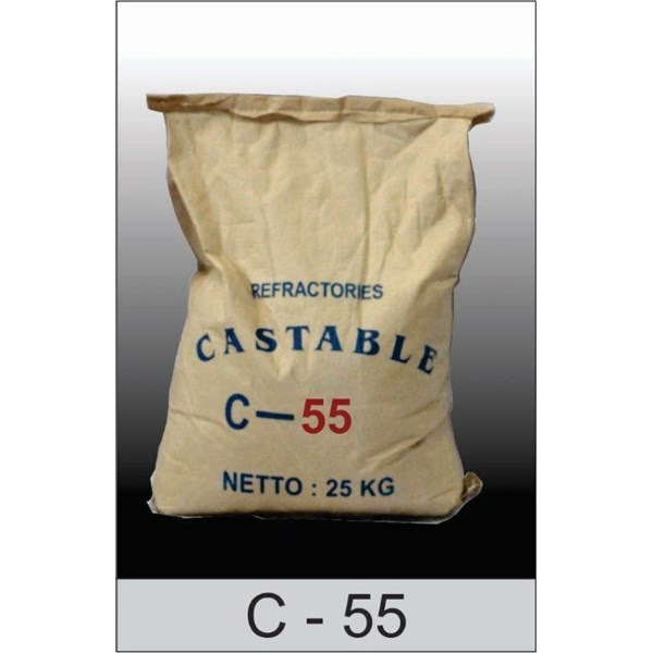 Castable C 55  Untuk Incenerator Pemusnah Limbah