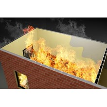 FIRE DAMPER FIRE BRICK