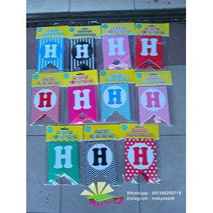 Banner Huruf