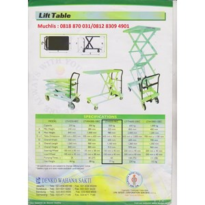 Distributor Lift Table