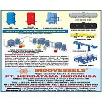 Pressure Tank 300 liter 500 liter 1000 liter