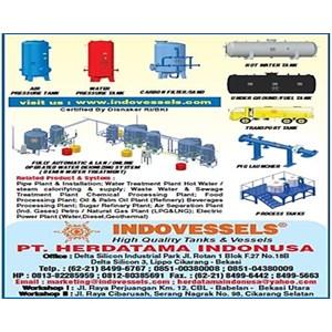 Water Pressure Tank Indonesia 0812 1060 8750 sales@indovessels.com PT. HERDATAMA INDONUSA 0812 10608 750