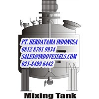 Tangki Air Mixing Tank Indonesia call. 0812 1060 8750 www.indovessels.com PT. HERDATAMA INDONUSA 1