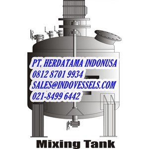 Tangki Air Mixing Tank Indonesia call. 0812 1060 8750 www.indovessels.com PT. HERDATAMA INDONUSA