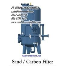 Tangki Sand Filter Dan Carbon Filter Kapasitas 4 M3 Per Jam www.sandfiltercarbonfilter.com PT. HERDATAMA INDONUSA call. 0812 1060 8750