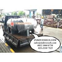 Pressure Tank 2000 Liter Indonesia Jakarta Tangki Kompresor Angin 1500 Liter PENTA TANK