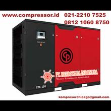 Chicago Pneumatic Compresorr Kompresor Listrik Angin Screw