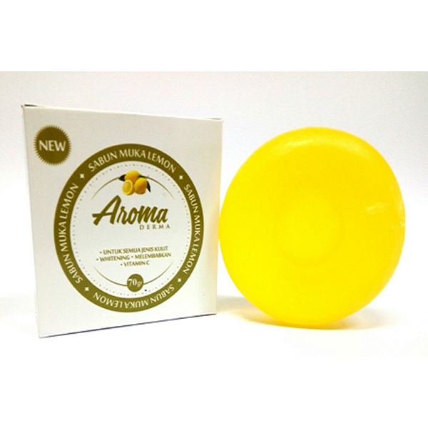 Aroma Derma Sabun Lemon