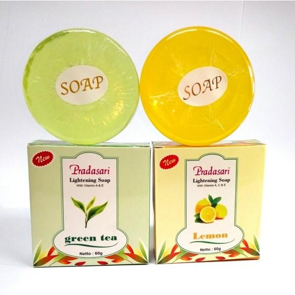 Sabun Muka Whitening  Lemon & Greentea