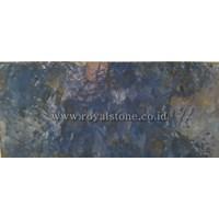 Jual Granit Onyx Crystal Galaxy- Blue 1