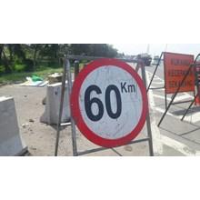 Rambu lalu lintas Kecepatan Maksimal 60 km