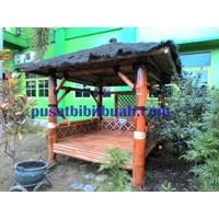 Perabot Ruang Publik  Gazebo Bambu