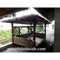 Perabot Ruang Publik  Gazebo Bambu 2