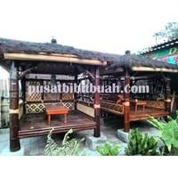 Perabot Ruang Publik  Gazebo Bambu 3