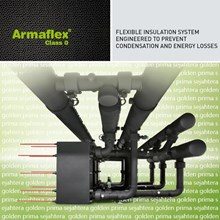 Class O Armaflex thermal insulation