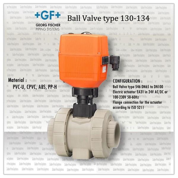 +GF+ Ball Valve type 130-134