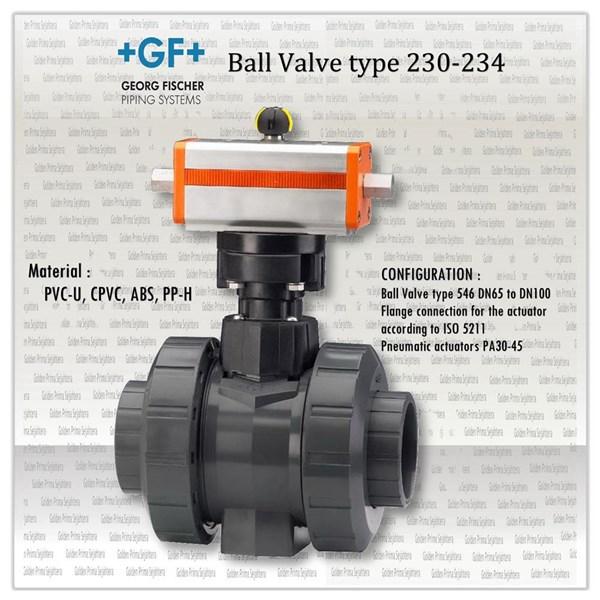 +GF+ Ball Valve type 230-234