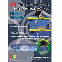 Bak Penyimpan Limbah padat Medis steriil  (WSPlus)
