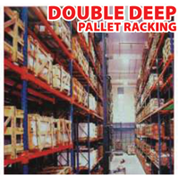 Jual Double Deep Pallet Racking