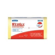 Kimberly Clark 94144 Wypall Color Code Wipers Regular Duty Yellow