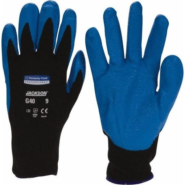Kimberly Clark 40227 Jackson G40 Nitrile Foam Coated Gloves Size L