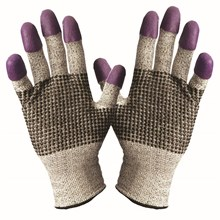 Kimberly Clark 97431 Jackson G60 Purple Nitrile Cut Resistant Gloves Size M