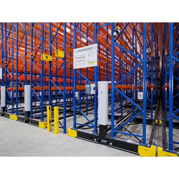 Tech Link Powered Mobile Pallet Racking