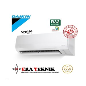 Ac Split Wall Daikin Smile Inverter 1.5PK