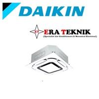 Ac Cassette Daikin Inverter 4PK 1Phase Wireless Standart Panel Putih