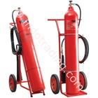 Tabung Pemadam Carbon Trolley 1