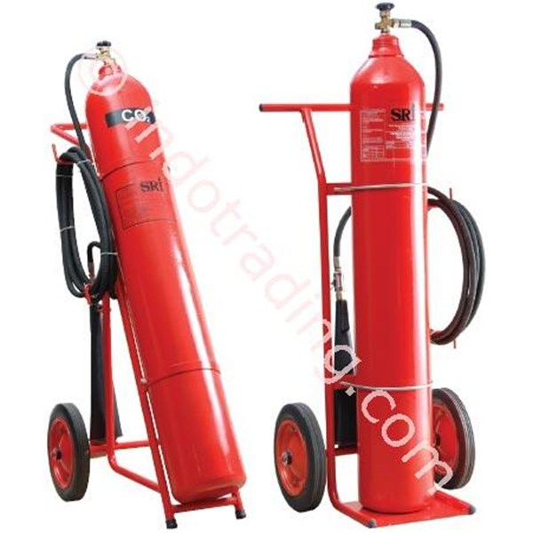 Tabung Pemadam Carbon Trolley