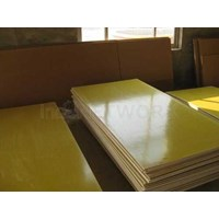 Gasket Epoxy Fiberglass atau resin kuning
