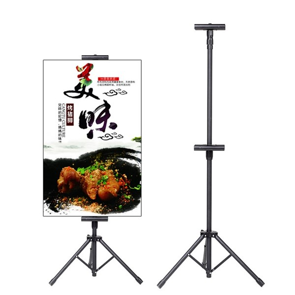 Tripod stand banner