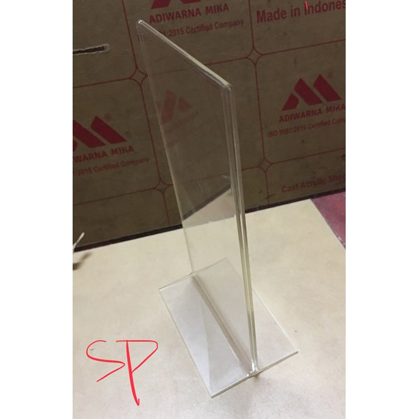 Acrylic T stand