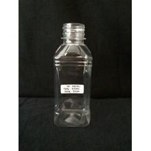Botol plastik 250ml type kotak