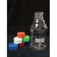 Plastik pembungkus Botol PET 250ml Bulat