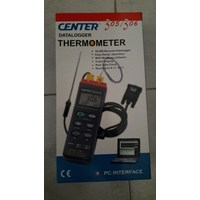 CENTERTEK THERMOCOUPLE DATALOGGER THERMOMETER TYPE CENTER 305  (TERMOKOPEL)